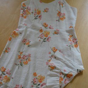 New Lovely linen summer dress